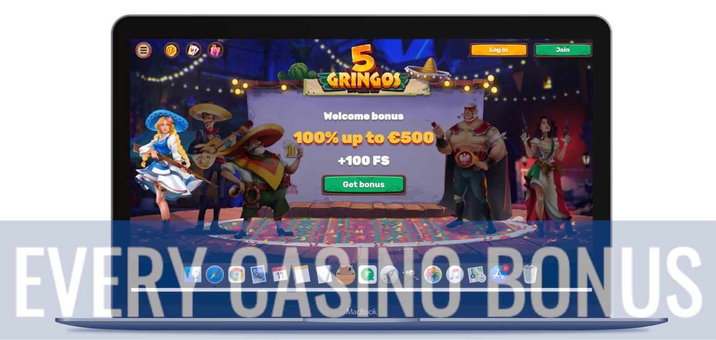 5Gringos Website