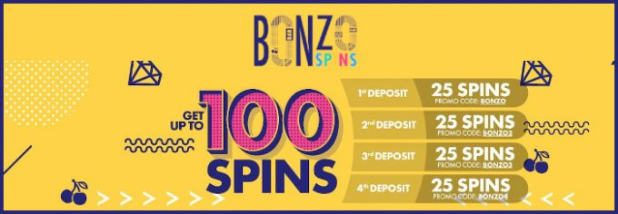 bonzo spins casino bonus
