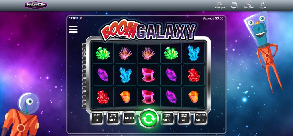 boom galaxy slot