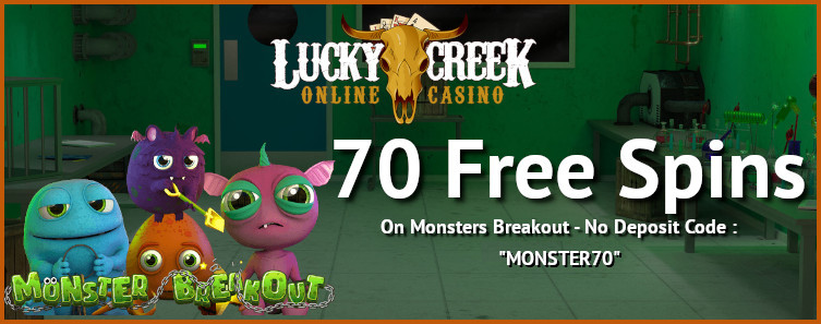 lucky creek bonus code