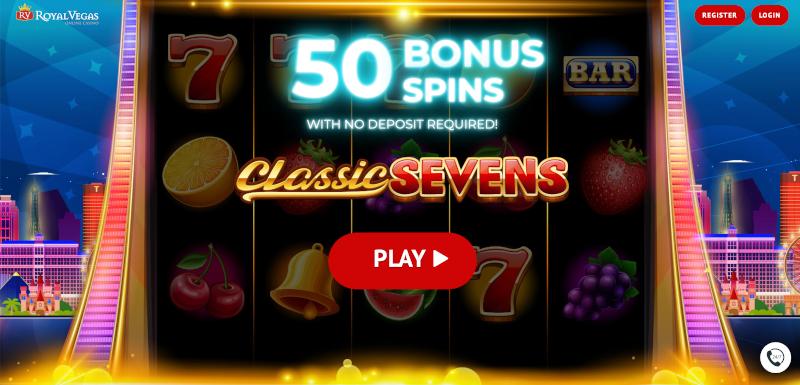 Royal Vegas Free Spins